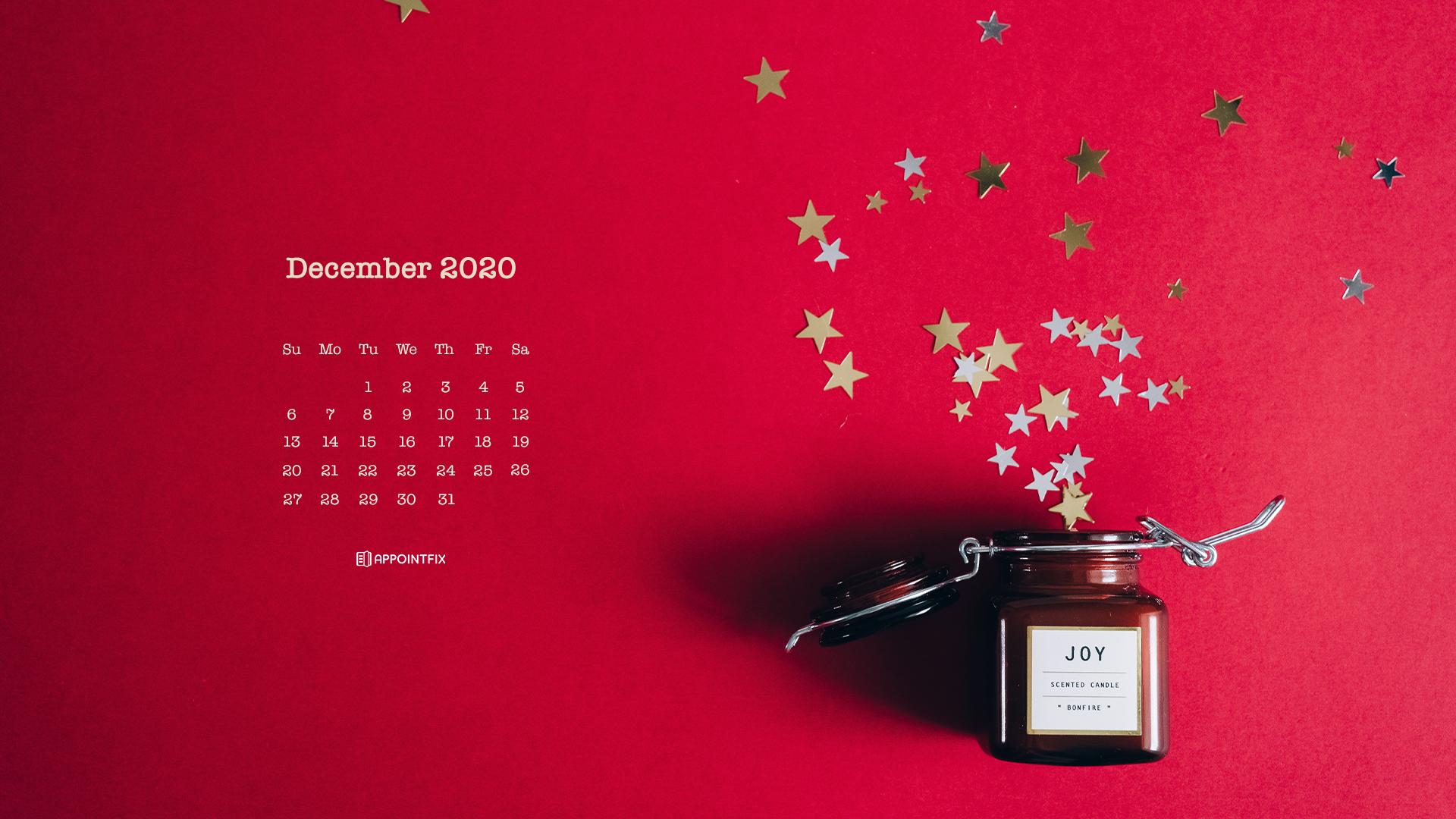 December 2020 Calendar Wallpapers   Desktop Mobile 1920x1080