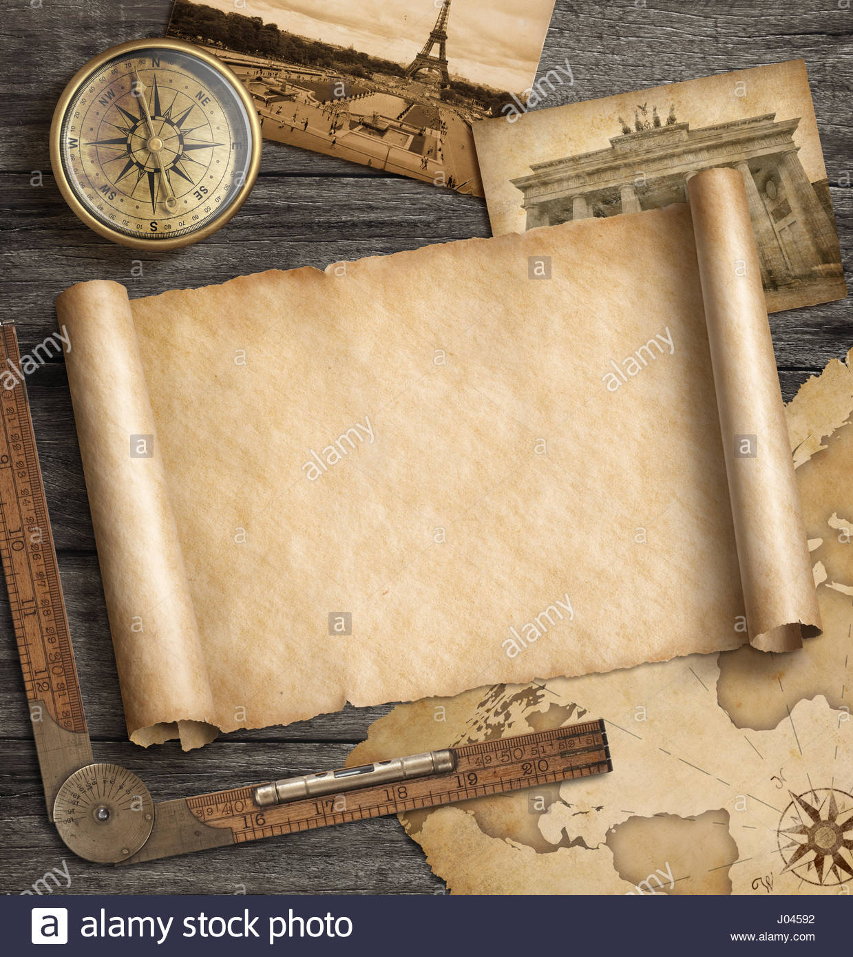 Old map background with compass Adventure and travel concept 3d 1239x1390