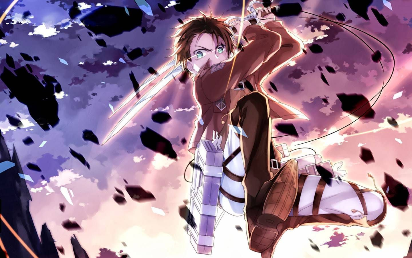 24 Eren Yeager Wallpapers On Wallpapersafari