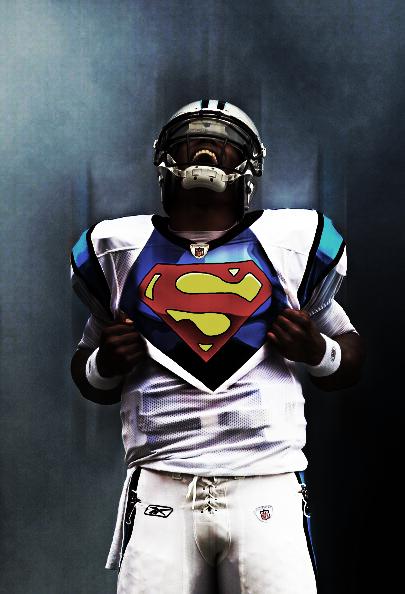 49 Cam Newton Wallpaper Superman On Wallpapersafari
