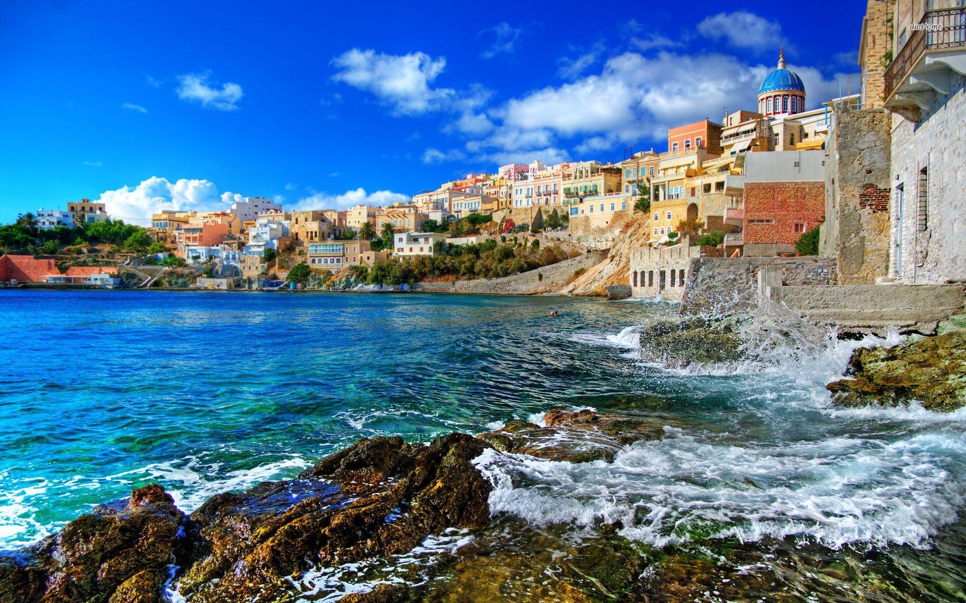 greece wallpaper hd wallpapersafari