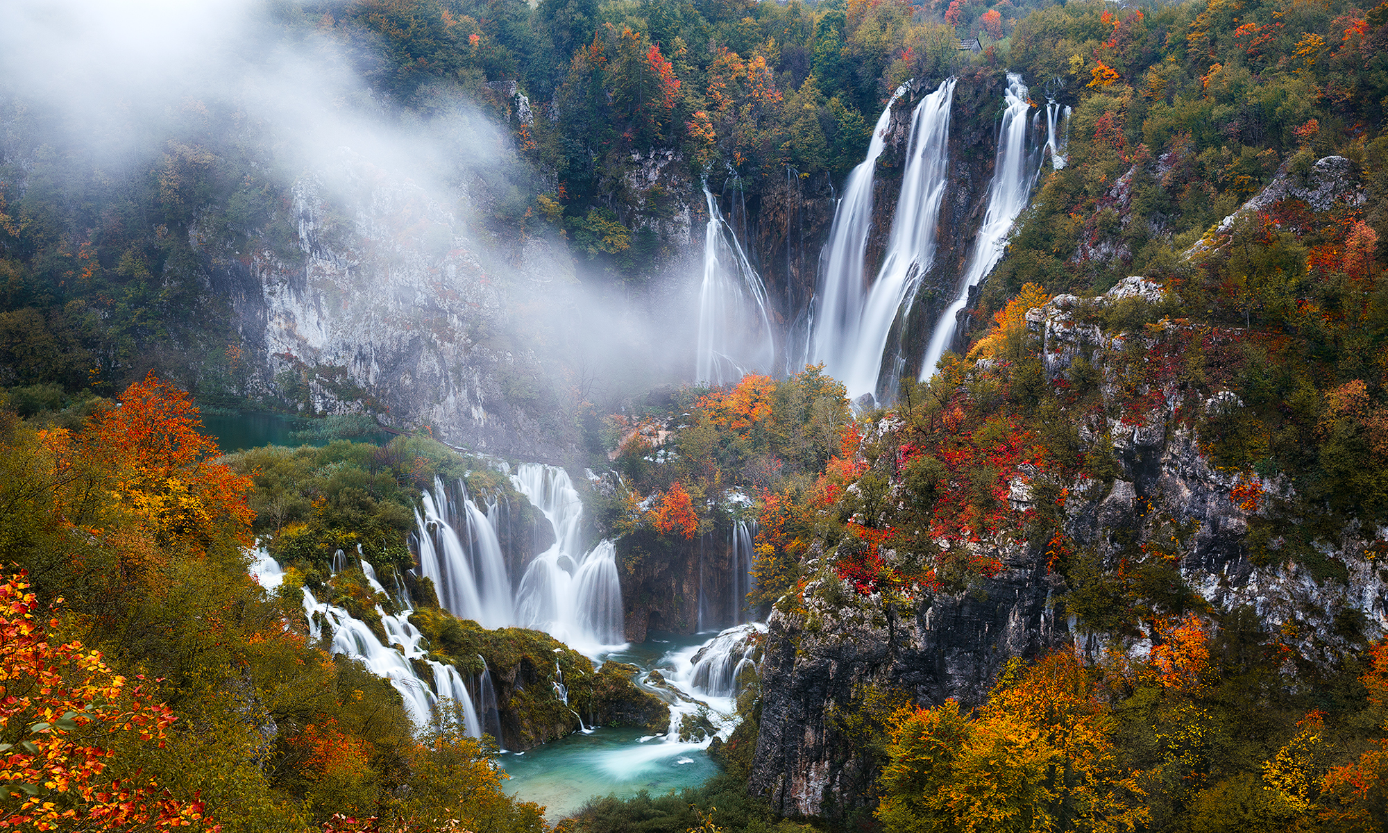 7 Plitvice Lakes National Park HD Wallpapers Background Images 2000x1200