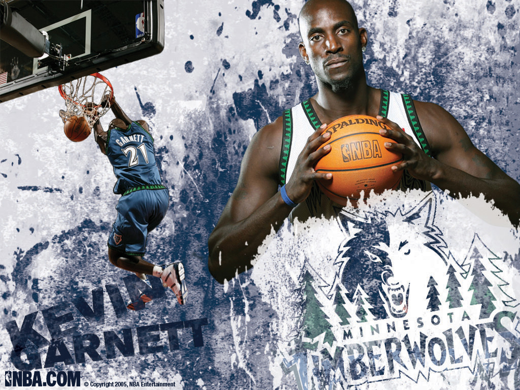 Kevin Garnett Wallpapers NBA Wallpapers Basket Ball 1024x768