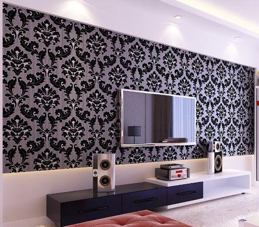 Modern Romantic Wallpaper Wall paper Roll Feature Design WP007 513x449