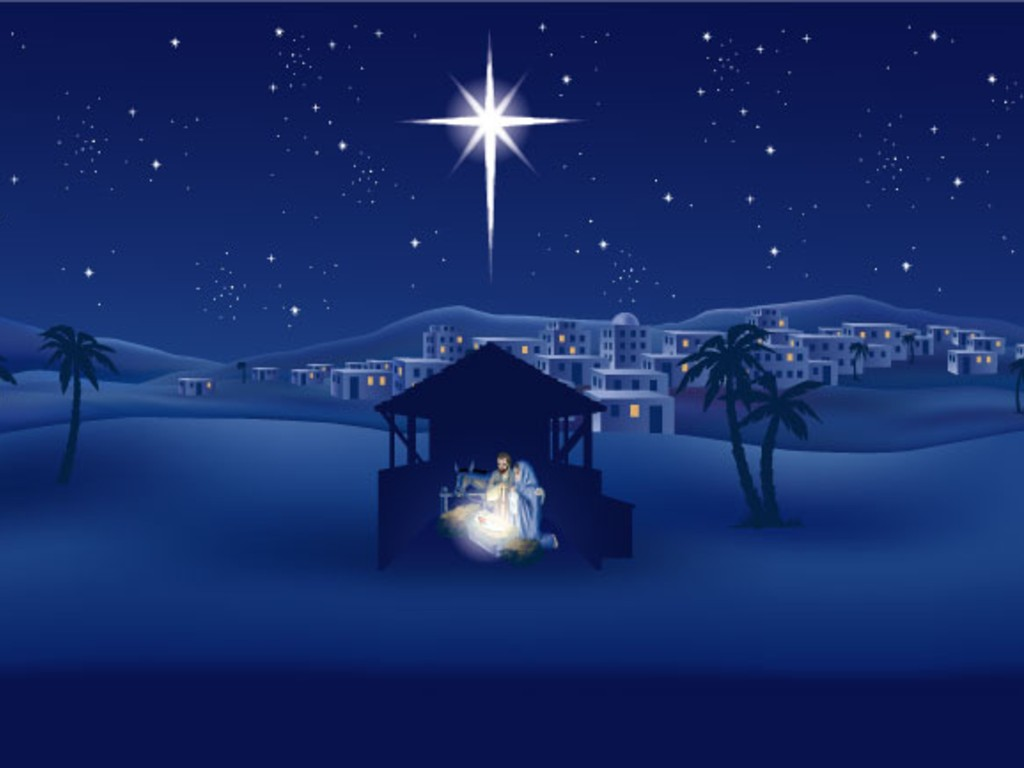 Fotos   Religious Christmas Cross Background Christian 1024x768