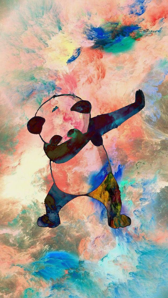 iPhone Dabbing Panda Wallpaper fav Fondo de pantalla para 640x1136