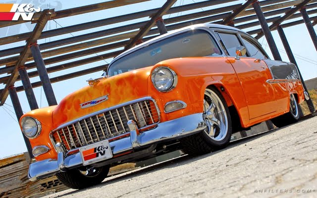 55 Chevy desktoplaptop wallaper Listed in 55 chevy category 640x400