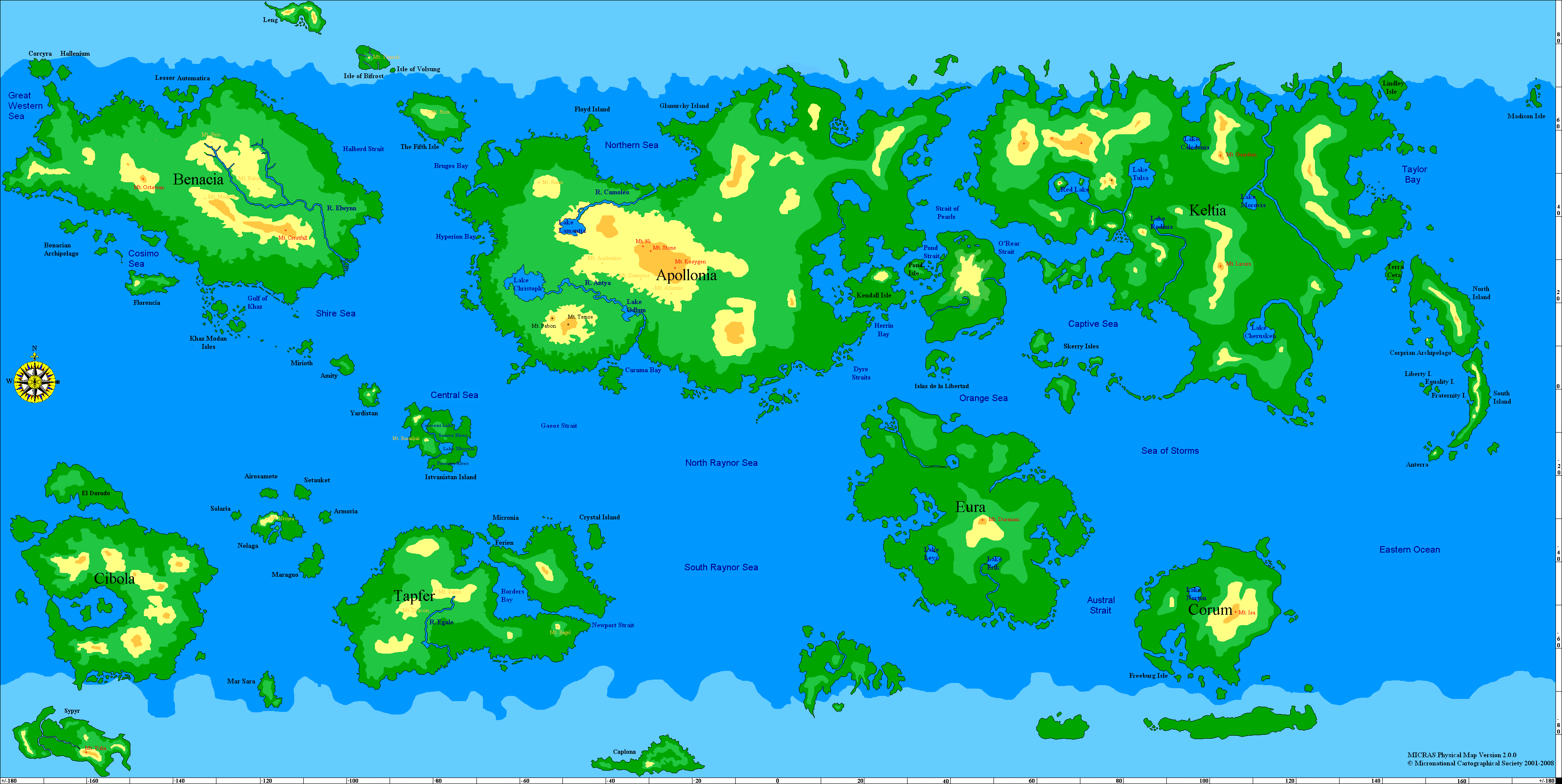 World Physical Map Wallpapers Pictures Hd Wallpapers 3616x1816
