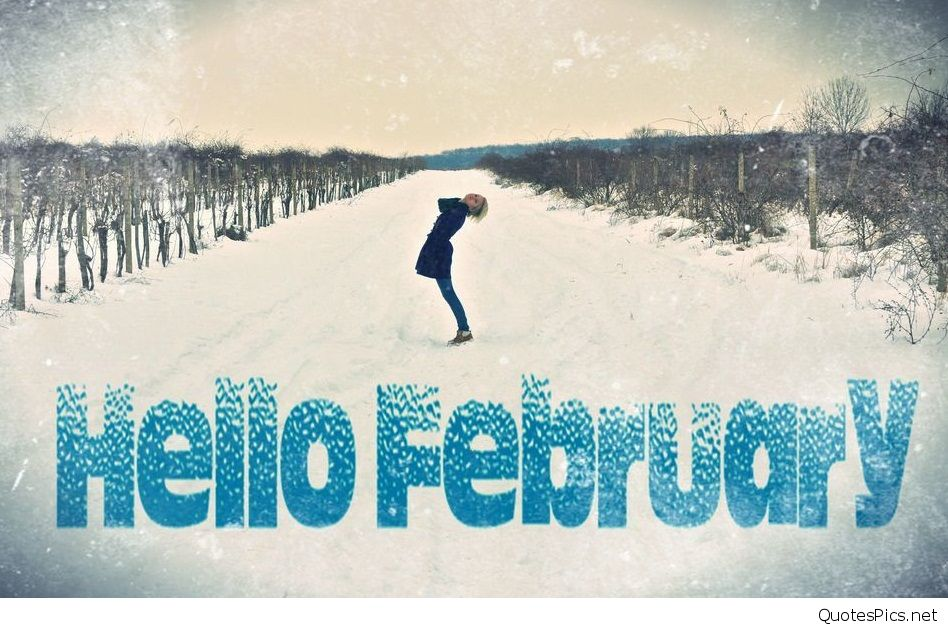 Funny Cute Hello February Images quotes and wallpapers 948x628