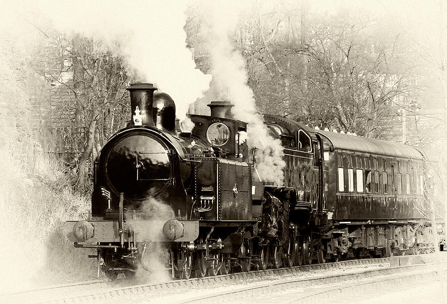 Vintage Steam Train Photograph by Trevor Kersley   Vintage Steam 900x613