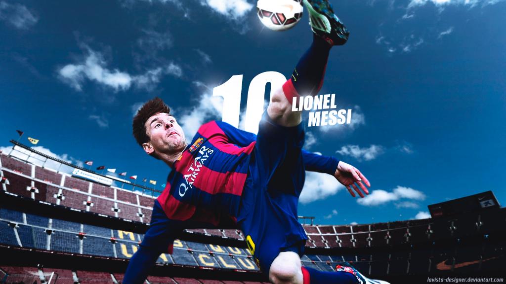 Lionel Messi 2015   Wallpaper 2015 by LaVista Designer 1024x576