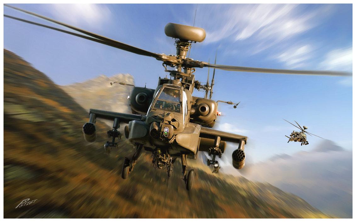 Apache Helicopter Wallpaper Desktop: Apache Longbow Wallpaper