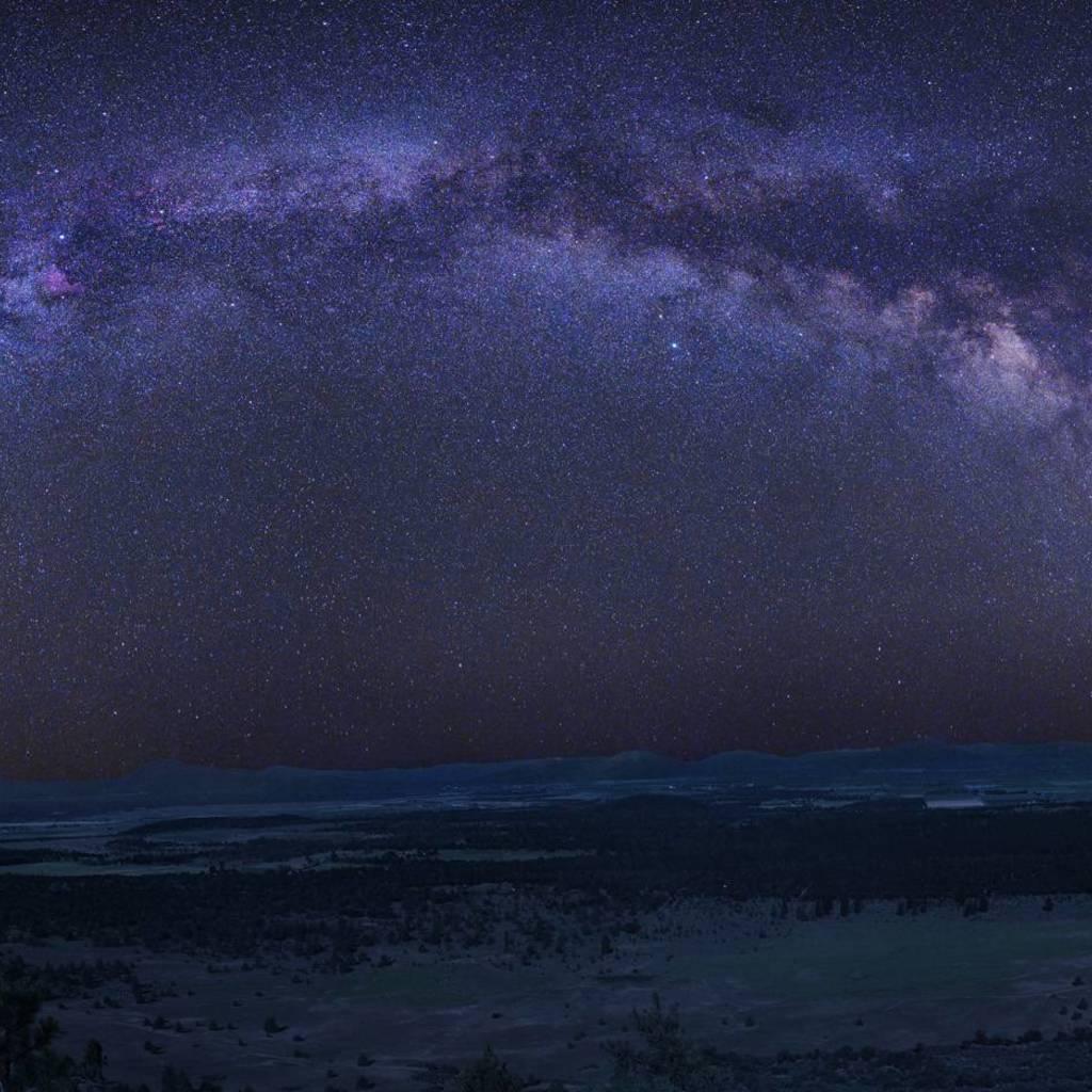 Milky Way Wallpaper for Apple iPad Mini 1024x1024