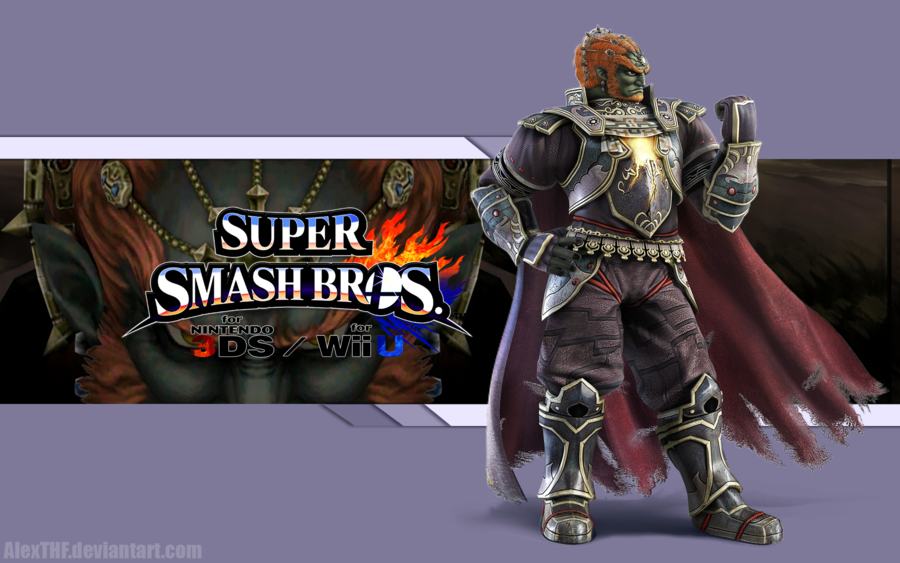 Free Download Ganondorf Wallpaper Super Smash Bros Wii U 3ds