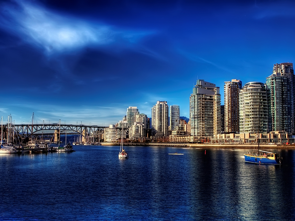 Vancouver HD wallpaper Canada wallpapers 1024x768