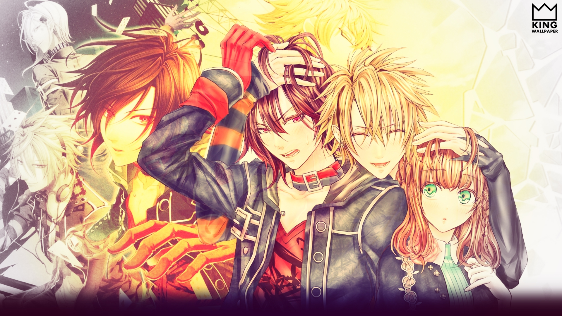 Amnesia anime wallpaper wallpapersafari - Wallpaper manga anime ...