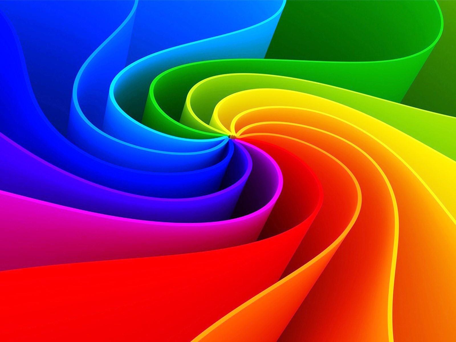 3D Dynamic Rainbow Wallpapers 4929 Wallpaper Cool Walldiskpapercom 1600x1200