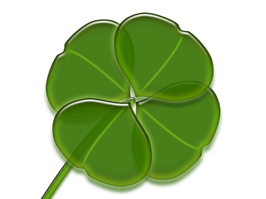 Four Leaf Clover Background   HD Wallpapers 1024x768