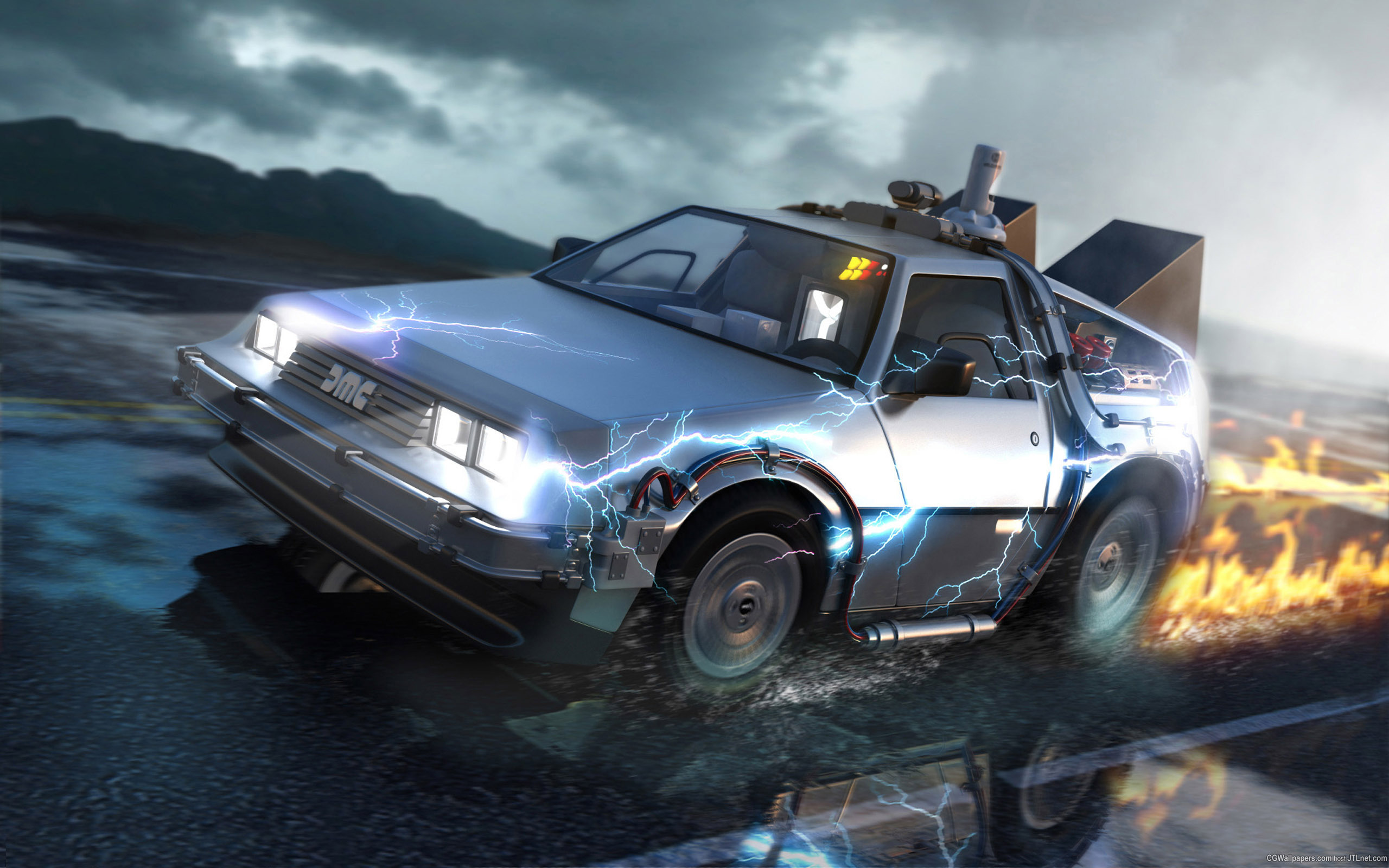 Download the photos Back To The Future 2560x1600