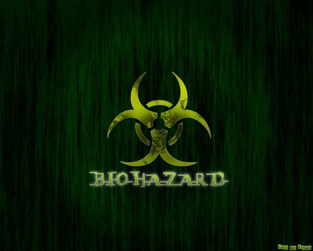 Green Biohazard Wallpaper 1280x1024 Green Biohazard 1280x1024