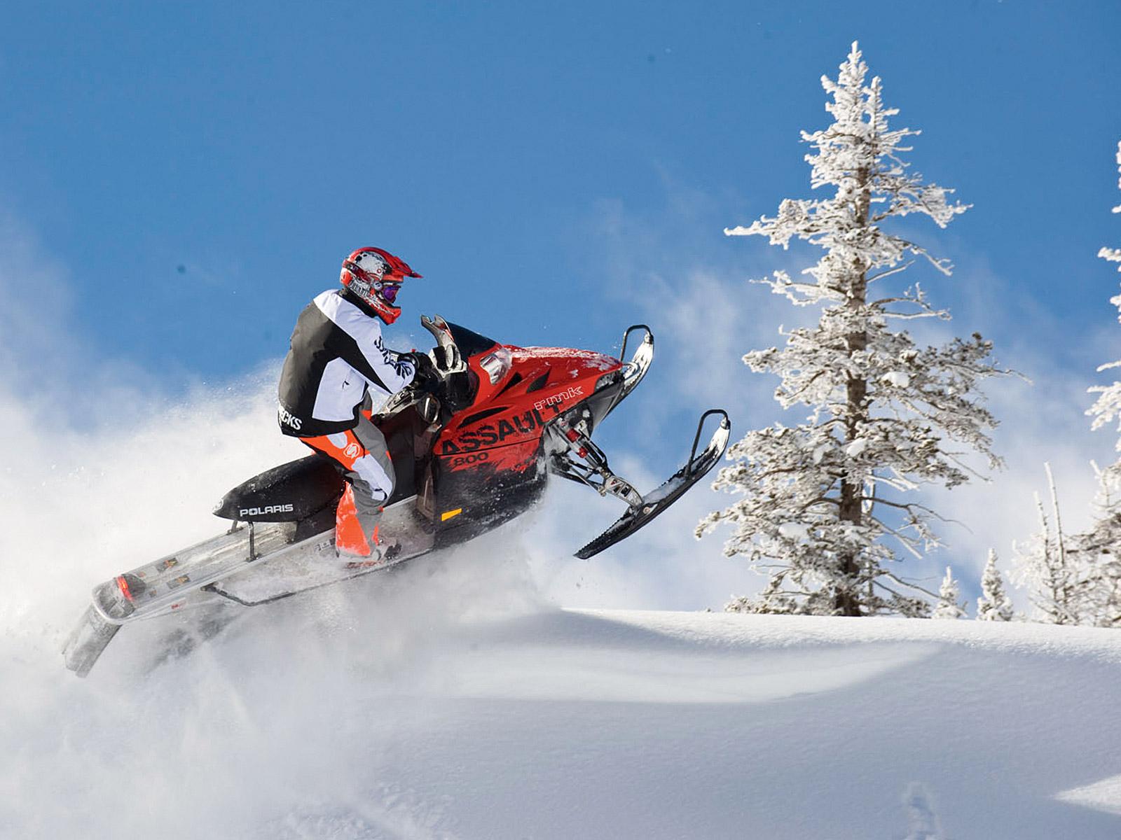 Polaris Rmk Assault Snowmobile Winter Sled Snow Fa   Polaris 1600x1200