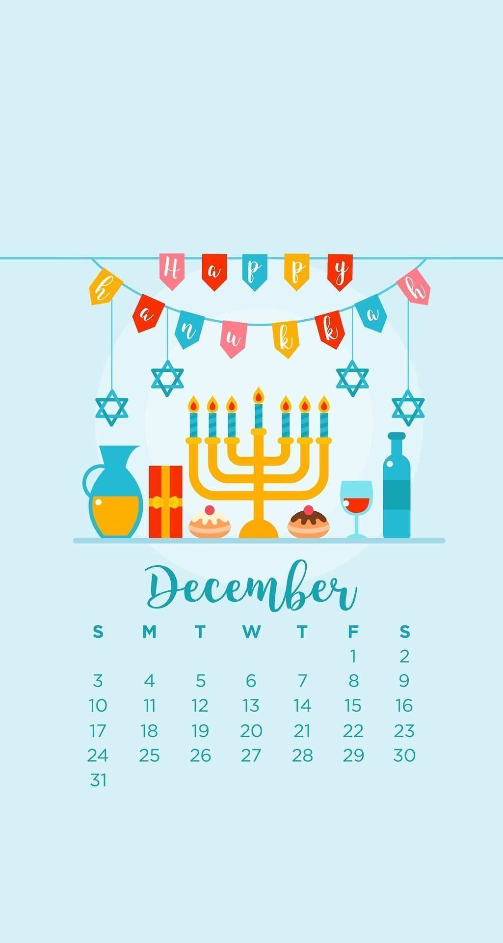 emmas studyblr December Hanukkah Phone Wallpapers emmas 1025x1920