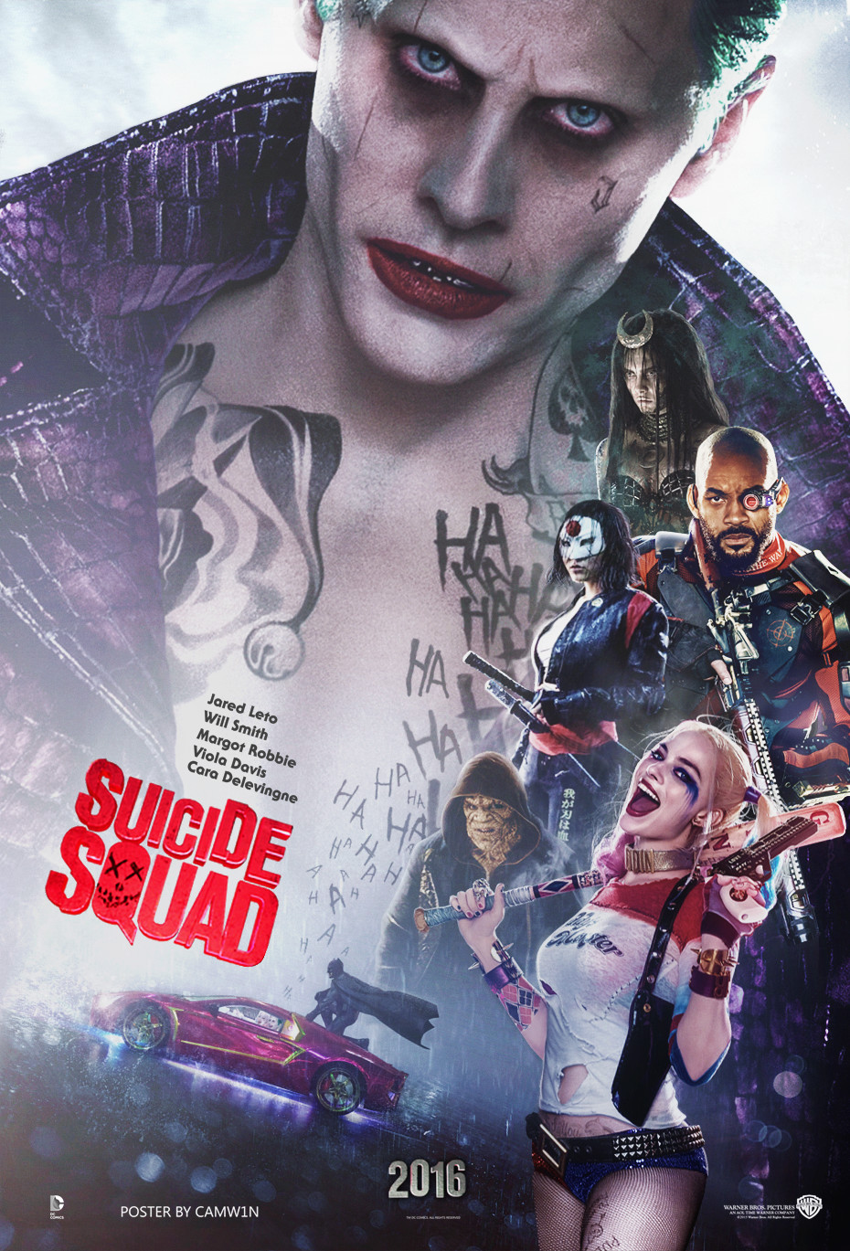 Suicide Squad Movie 2016 wallpaper HD desktop background 2016 in 930x1369