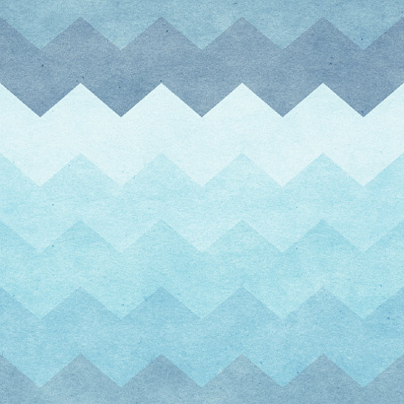 Chevron Waves Removable Wallpaper 8 Feet by WallsNeedLove on Etsy 570x570