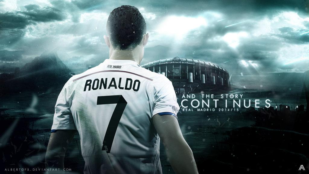 Cristiano Ronaldo 2014/15 Wallpaper by AlbertGFX on DeviantArt