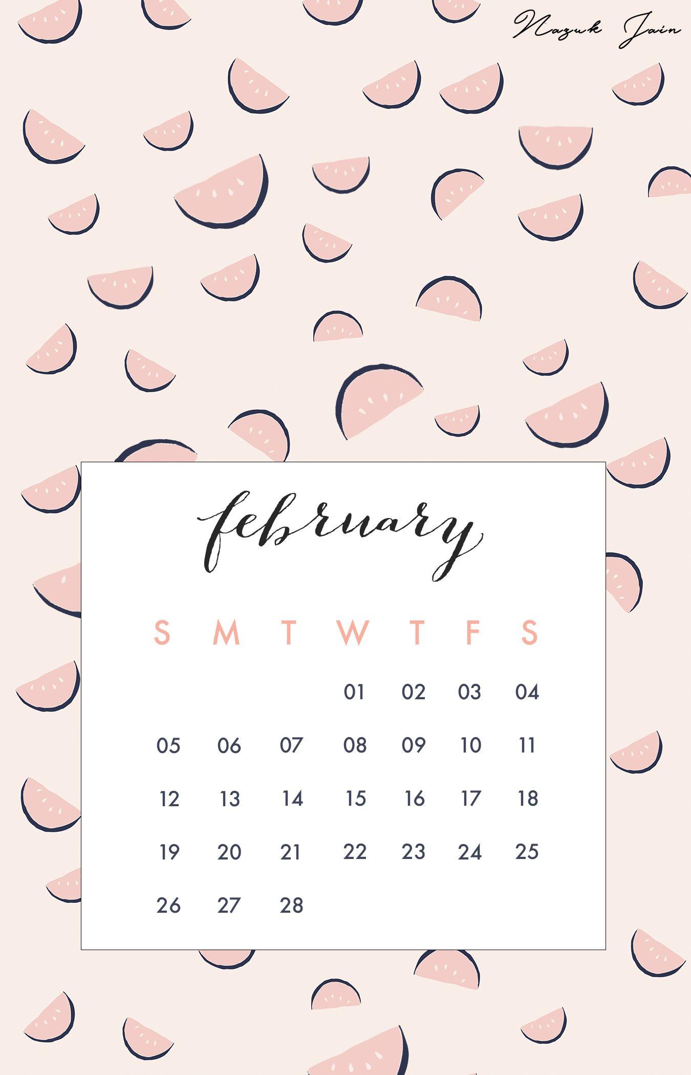 The 25 best February calendar 2017 ideas 1350x2100