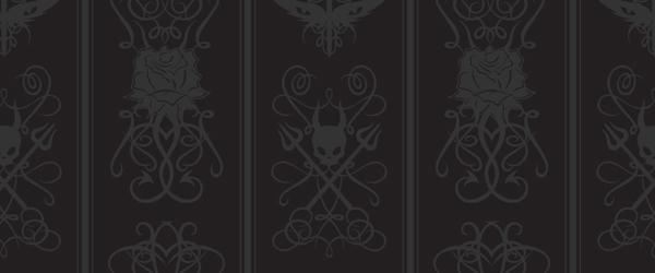 Gothic Wallpaper For Home 1 Desktop Wallpaper   Hdblackwallpapercom 600x250