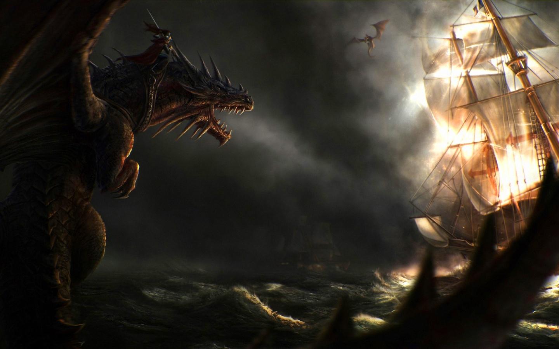 Dragon Art Wallpaper 1440x900