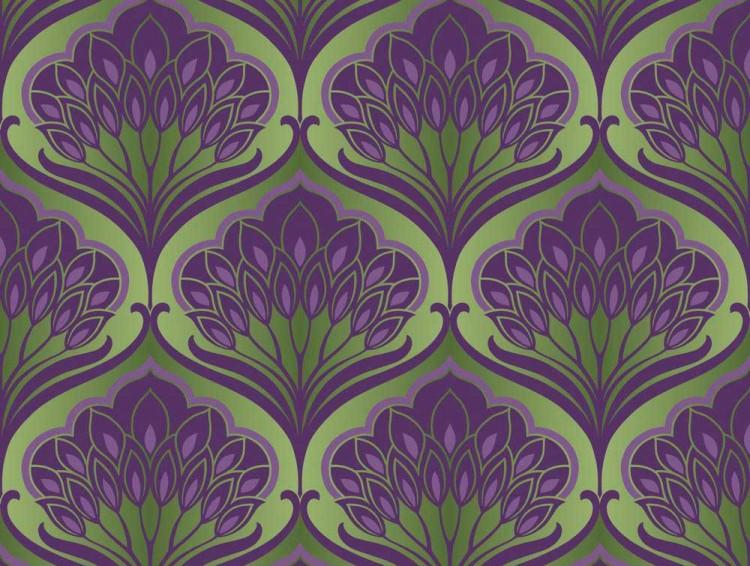Pavonis Emerald City Designer Wallpaper 750x566