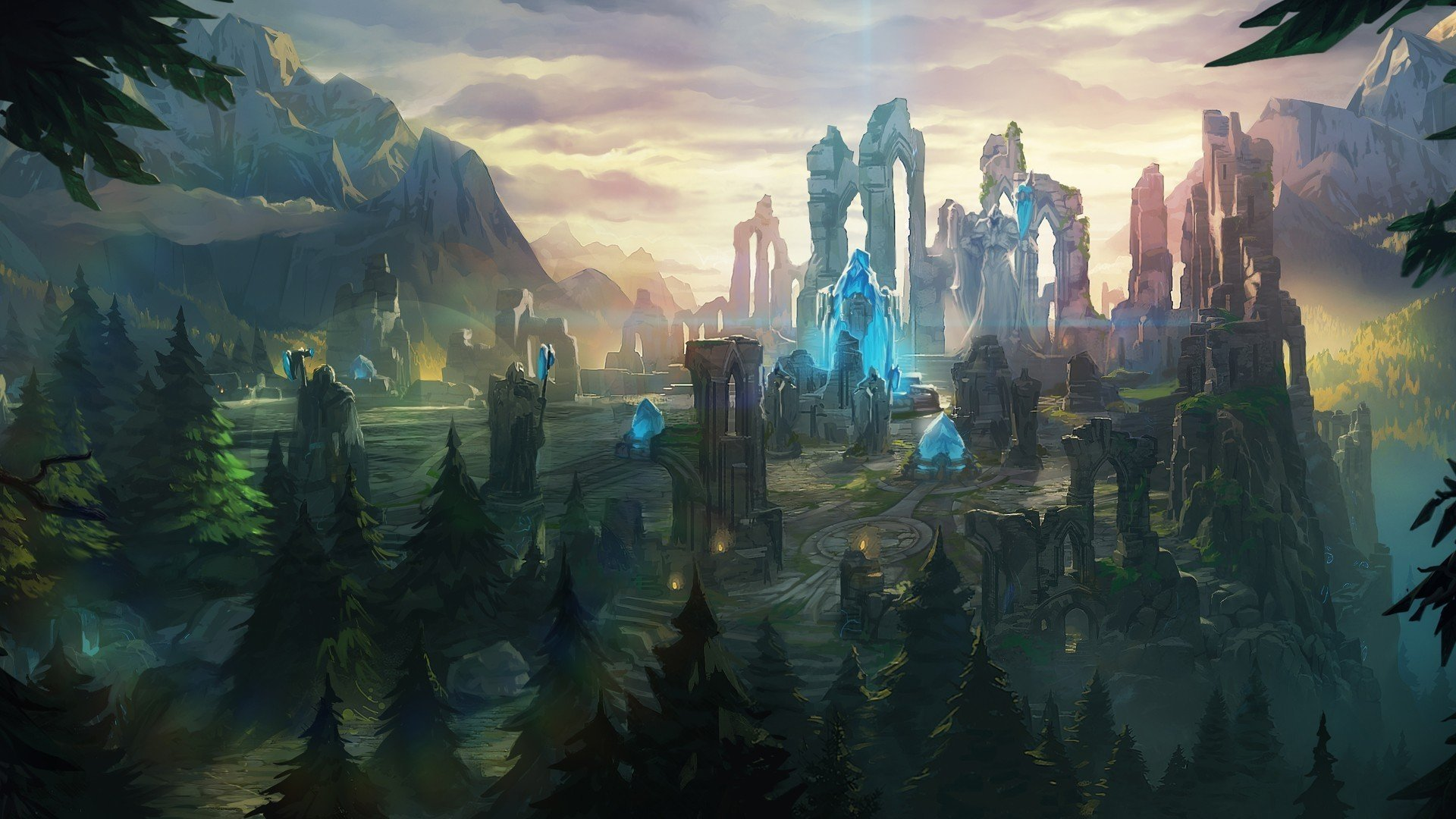 Summoners Rift League of Legends HD Wallpaper Background 1920x1080