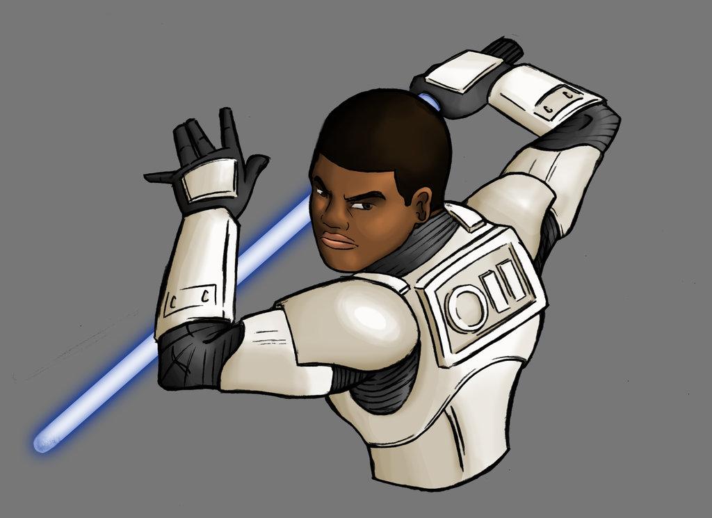 Finn   Star Wars Episode VII 7 The Force Awakens by evanattard on 1024x745
