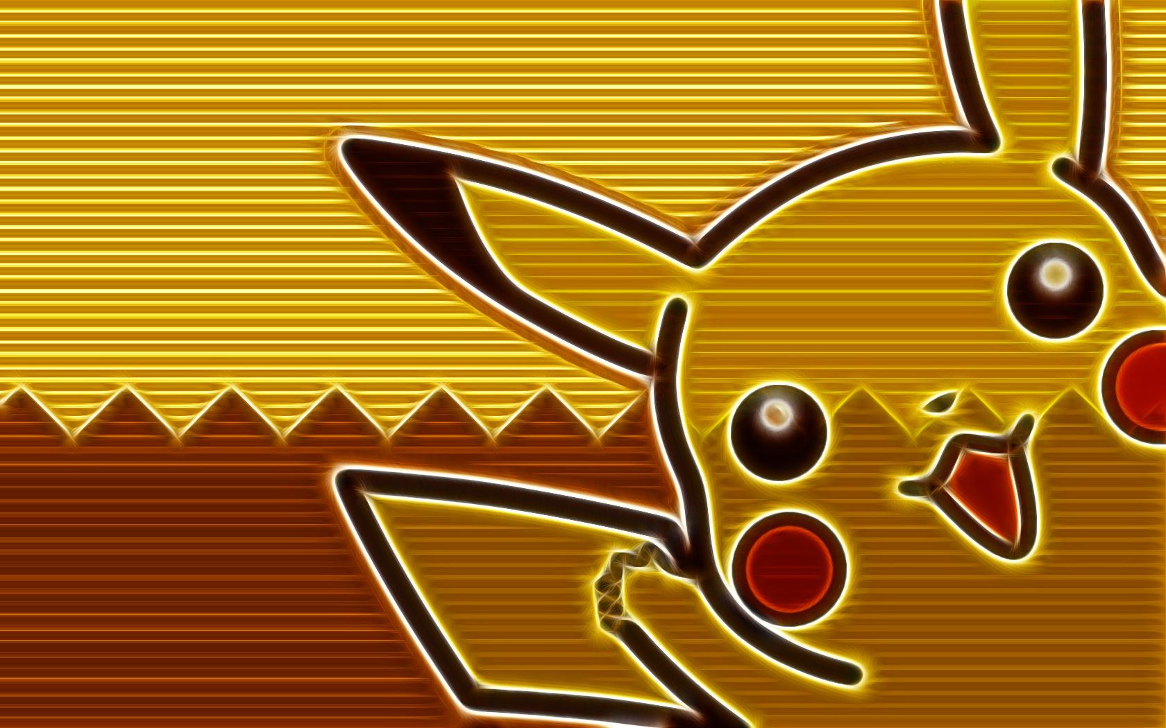 Pokemon Pikachu Wallpaper 1680x1050 Pokemon Pikachu 1680x1050