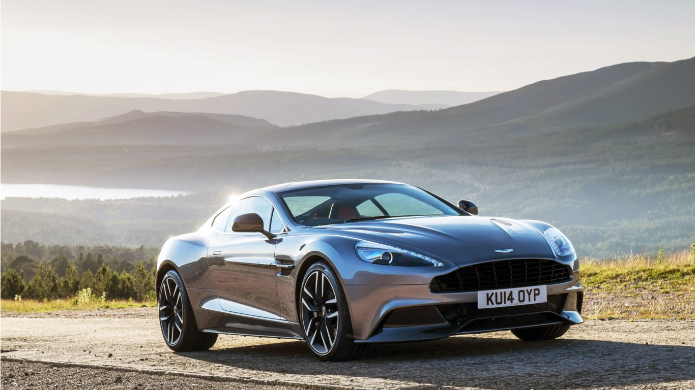 2015 Aston Martin Vanquish Wallpaper HD Car Wallpapers 1366x768