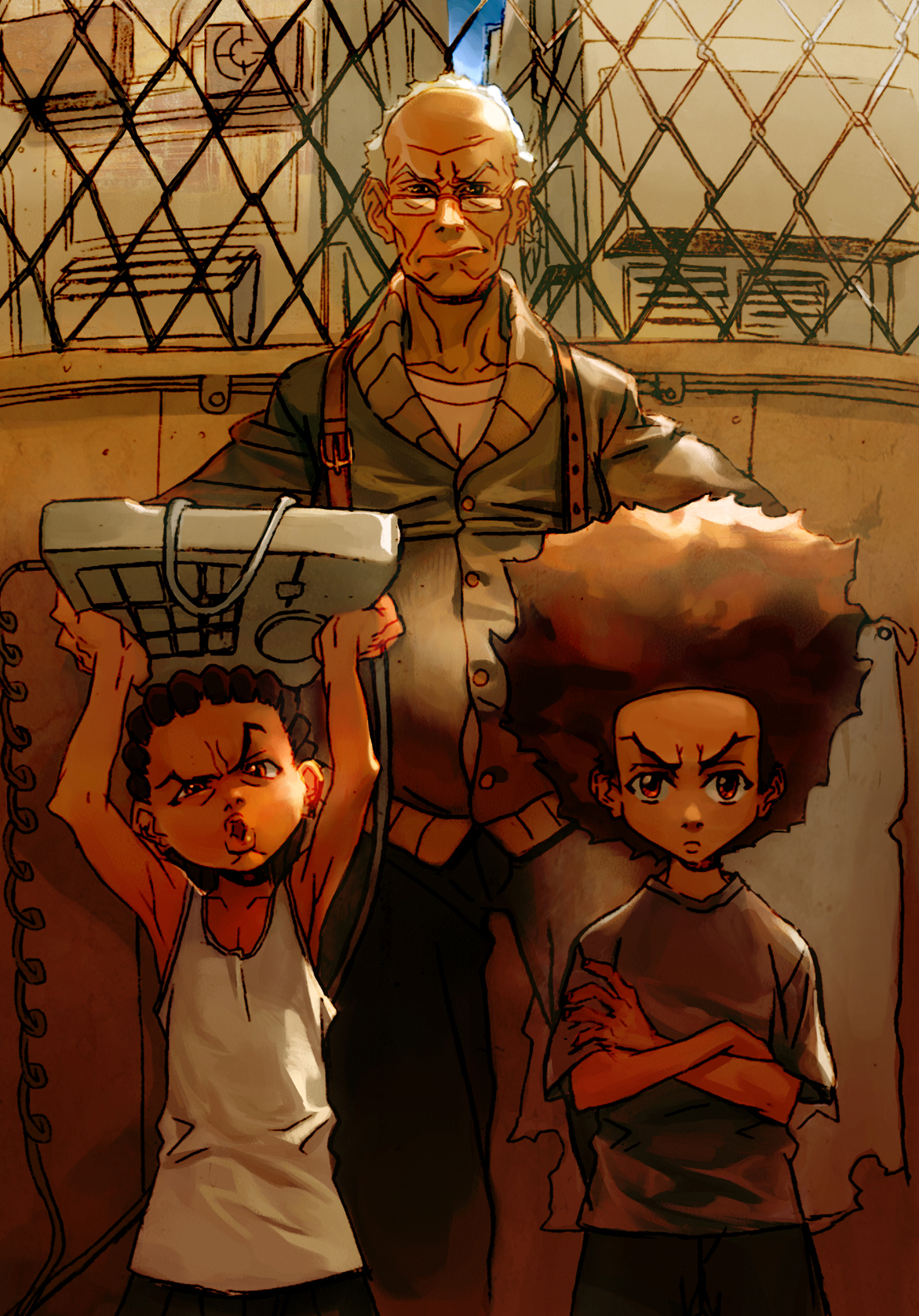Free Download The Boondocks Wallpaper 1171x1678 The