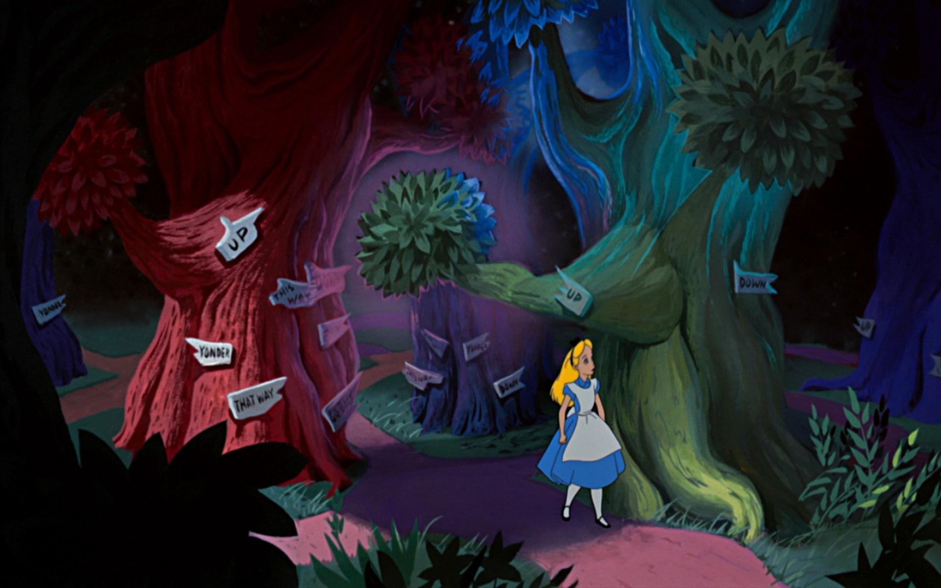 Disney Alice In Wonderland Wallpaper Wallpapersafari