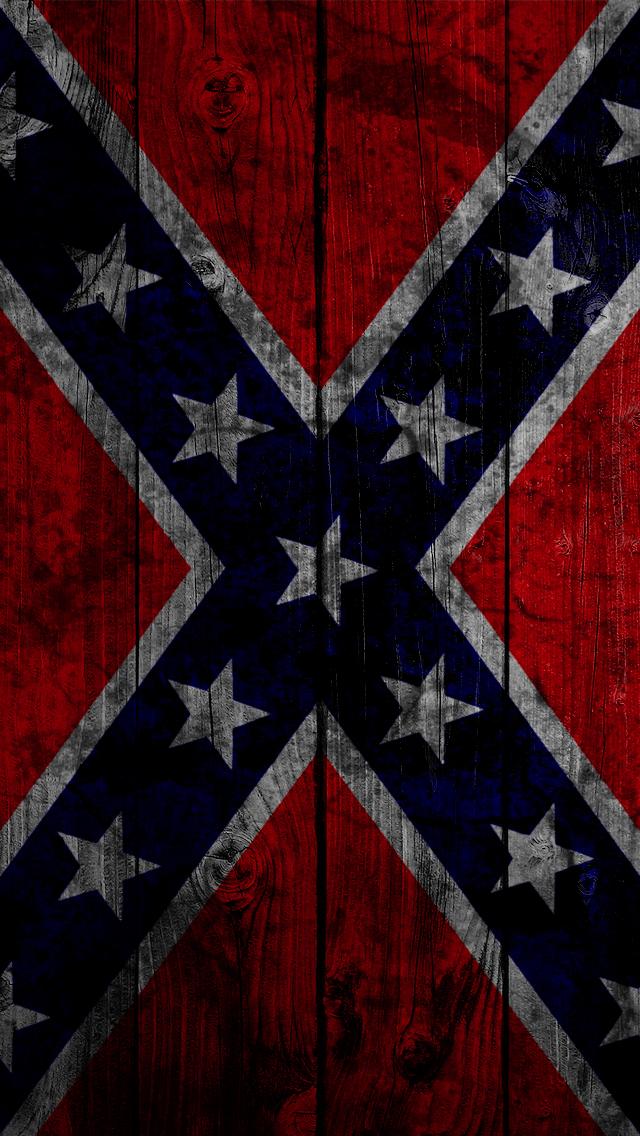 Confederate Flag 640x1136