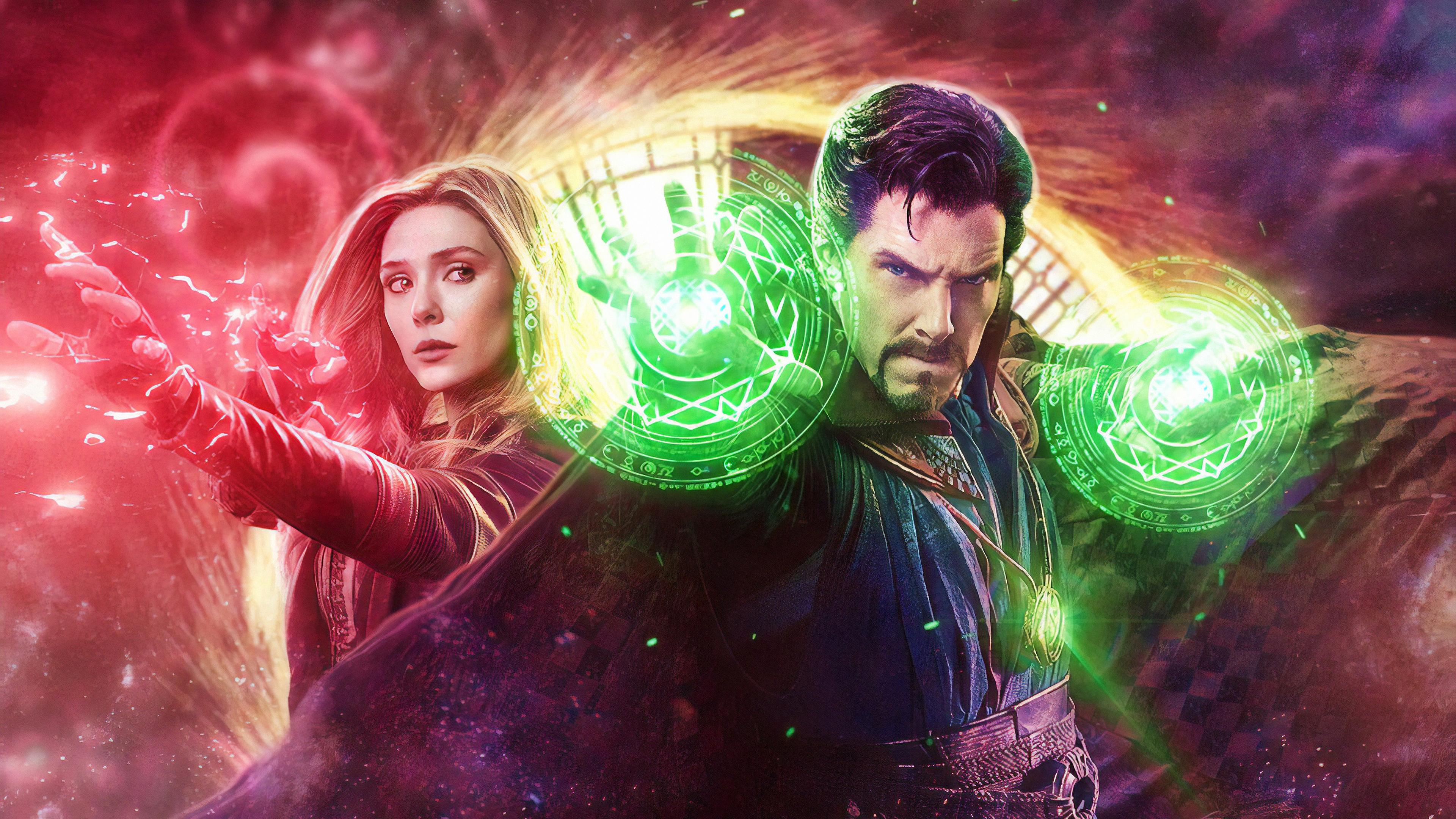 Wallpaper 4k Doctor Strange In The Multiverse Of Madness Wallpaper 3840x2160