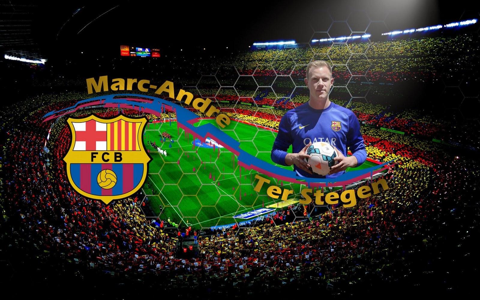 Marc Andre Ter Stegen 2014 FC Barcelona German Goalkeeper HD 1600x1000