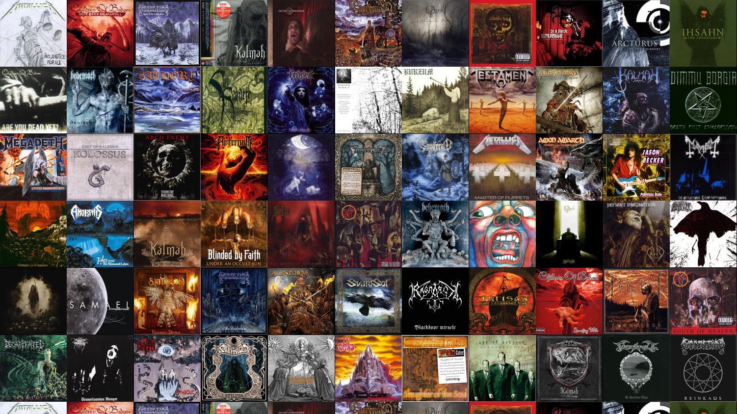 Metallica And Justice For All Children Bodom Hatecrew Wallpaper 1502x844