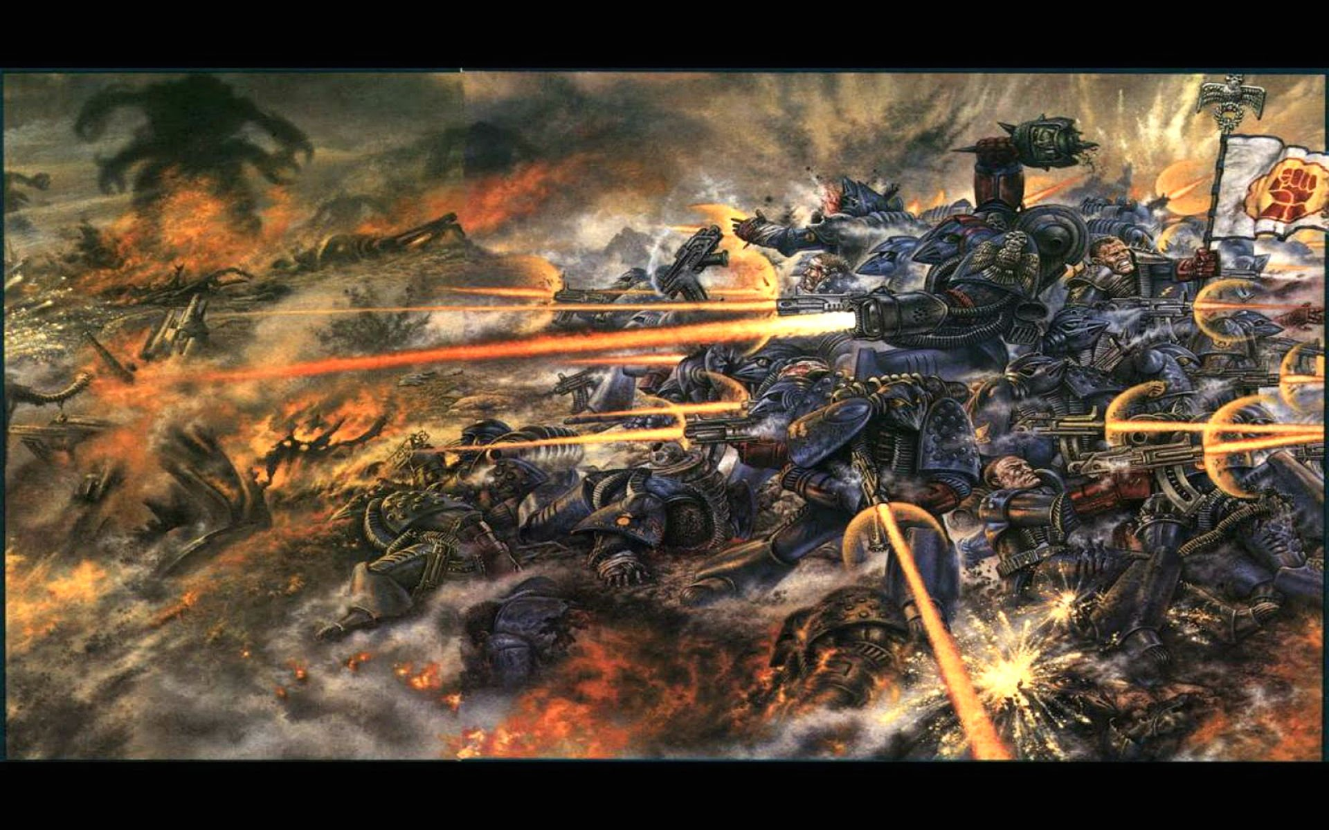 warhammer 40000 space marine wallpapers