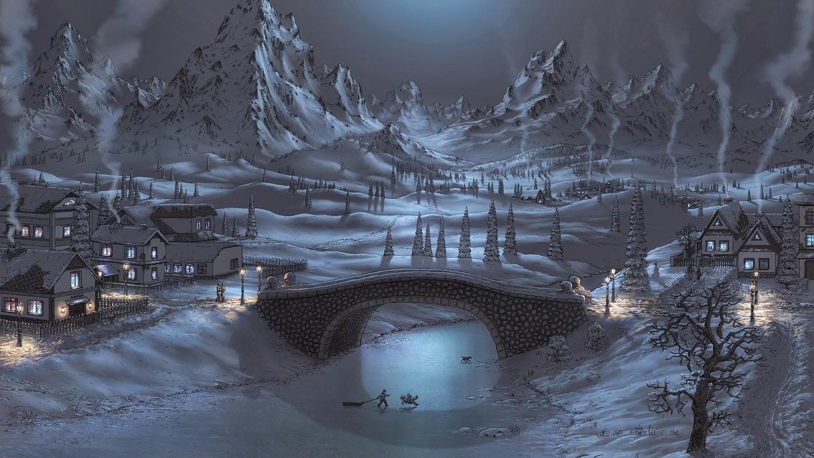 Winter beautiful wallpaper collection wwwakbarkhannet 1600x900