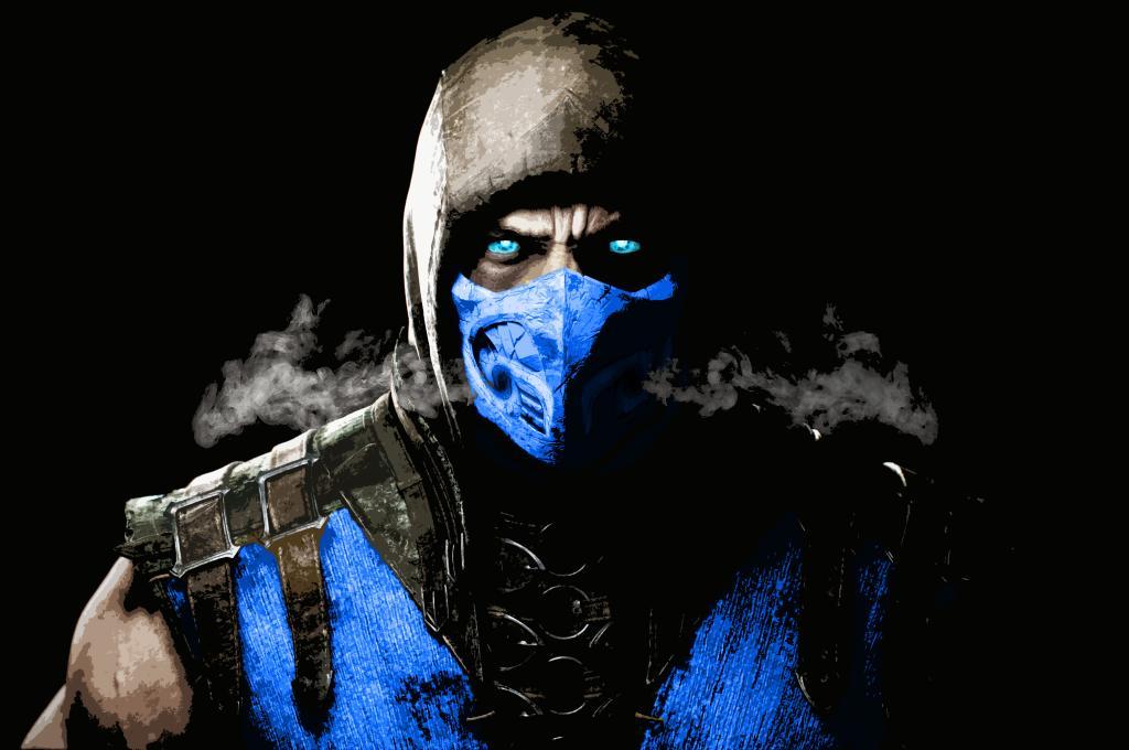 Sub Zero Mortal Kombat X by CipherGalm1 1024x680