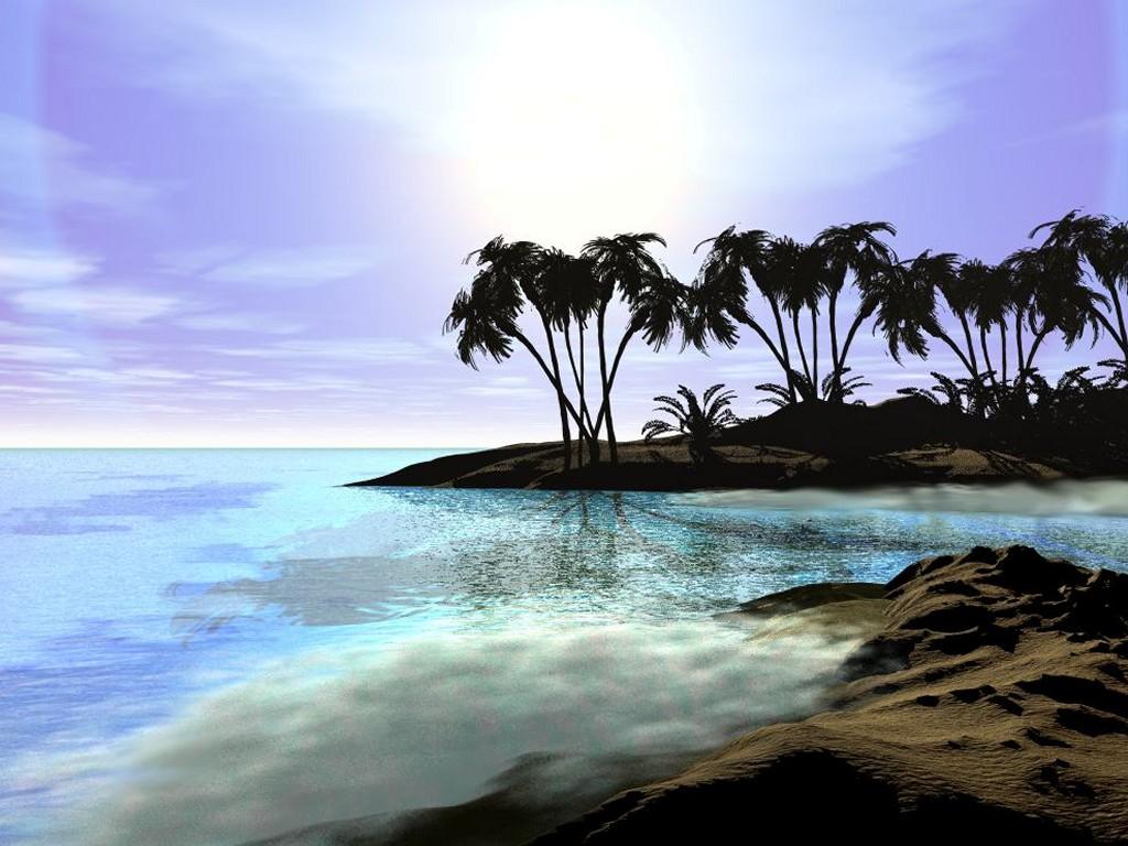 Paradise Island 1024x768