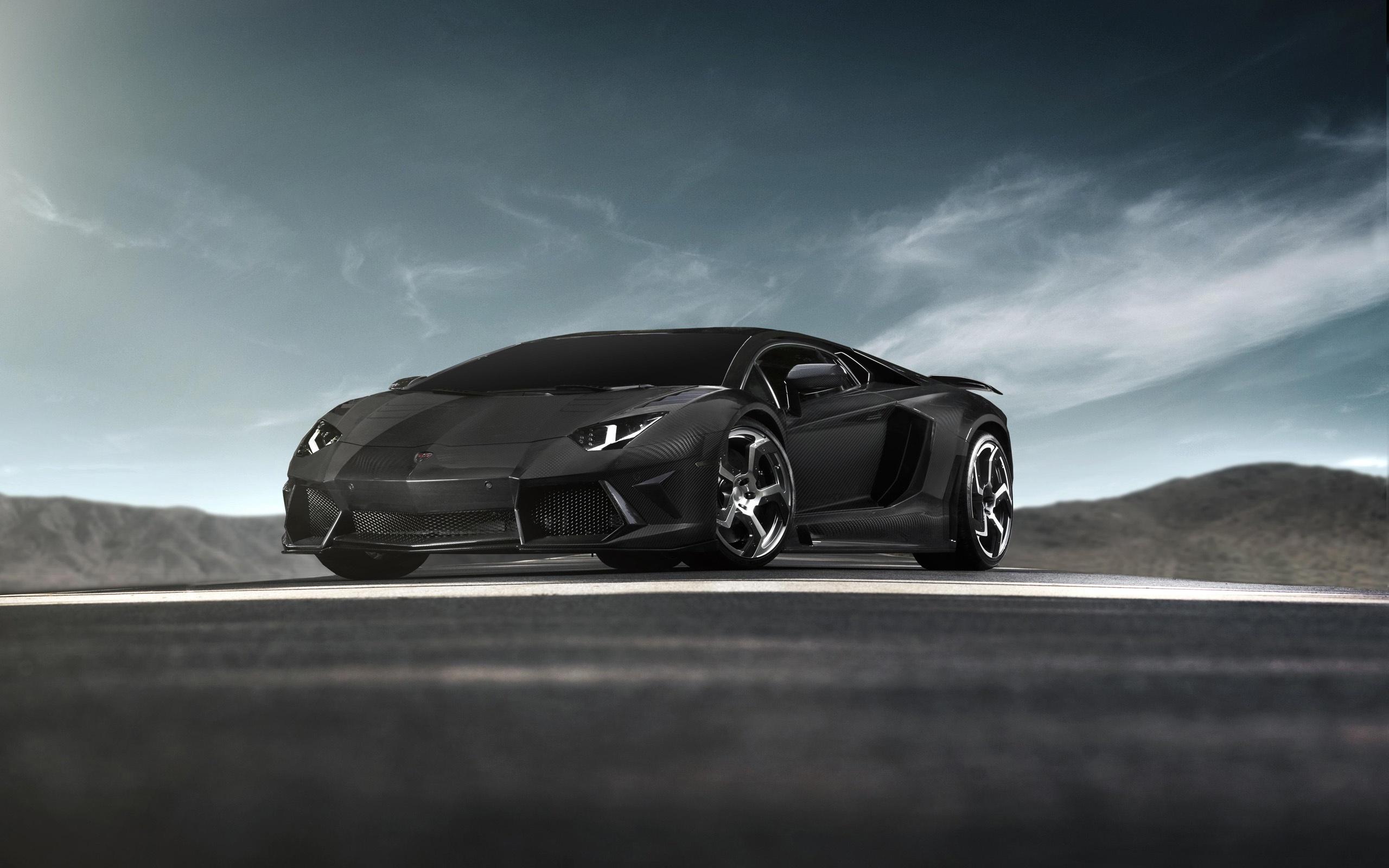 Mansory Lamborghini Aventador Carbon Wallpaper for 2560 x 1600 2560x1600