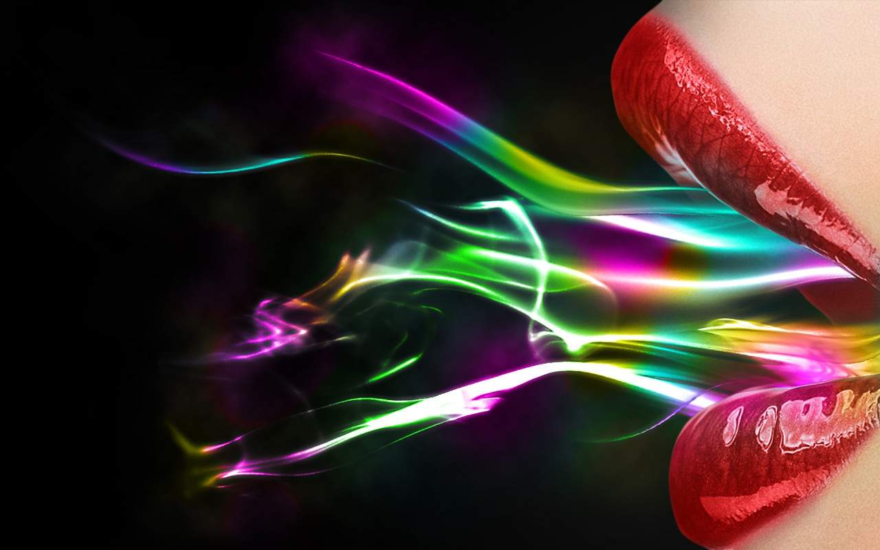 and Mobile Phones 20 HD Best Collection of Colorful Lips Wallpapers 1280x800