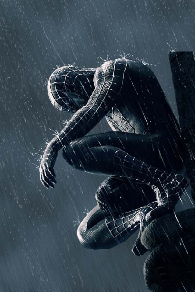 iPhone background Spider Man from category cartoons wallpapers for 640x960